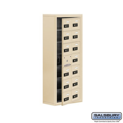 Salsbury Cell Phone Storage Locker - with Front Access - 19178-14ASC