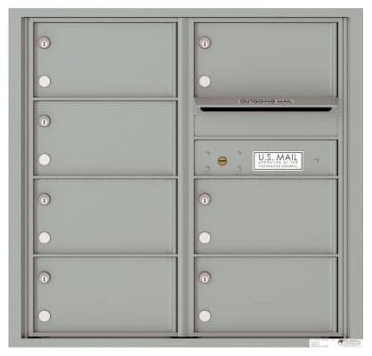 versatile 4C08D-07-SM 4CFL Front-loading Mailbox
