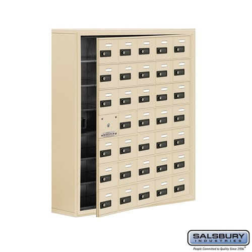 Salsbury Cell Phone Storage Locker - with Front Access - 19178-35ASC