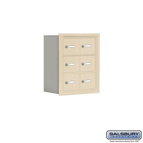 Salsbury Cell Phone Storage Locker - 3 Door High Unit  - 19038-06ARK