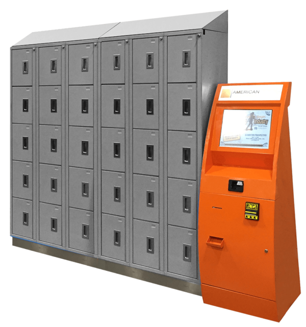 Electronic Locker System SS