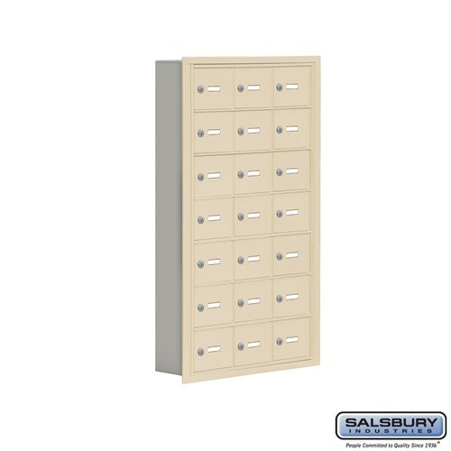Salsbury Cell Phone Storage Locker - 7 Door High Unit  - 19075-21ARK