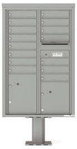 versatile 4C13D-15-P 4CFL Front-loading Mailbox