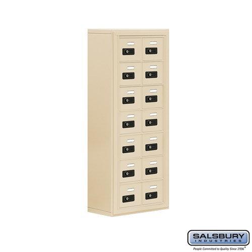 Salsbury Cell Phone Storage Locker - 7 Door High Unit  - 19078-14ASC