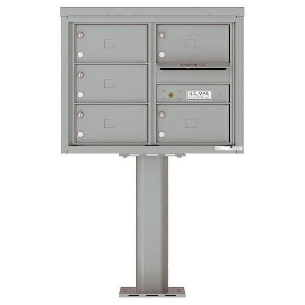 versatile 4C06D-05X-P 4CFL Front-loading Mailbox