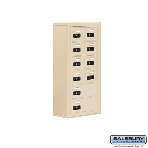 Salsbury Cell Phone Storage Locker - 6 Door High Unit  - 19068-10ASC