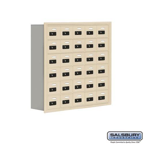 Salsbury Cell Phone Storage Locker - 6 Door High Unit  - 19068-30ARC