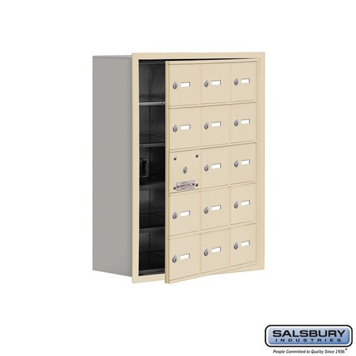 Salsbury Cell Phone Storage Locker - with Front Access - 19158-15ARK