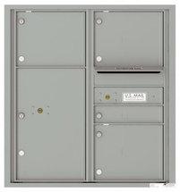 versatile 4C09D-04-SM 4CFL Front-loading Mailbox