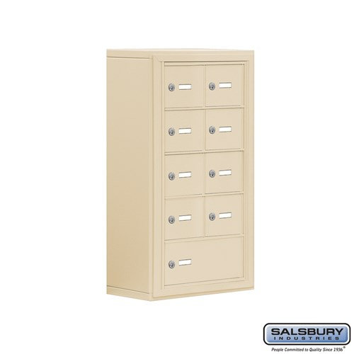 Salsbury Cell Phone Storage Locker - 5 Door High Unit  - 19058-09ASK