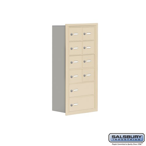 Salsbury Cell Phone Storage Locker - 6 Door High Unit  - 19068-10ARK
