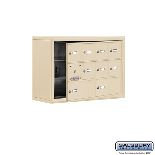 Salsbury Cell Phone Storage Locker - with Front Access - 19138-10ZSK