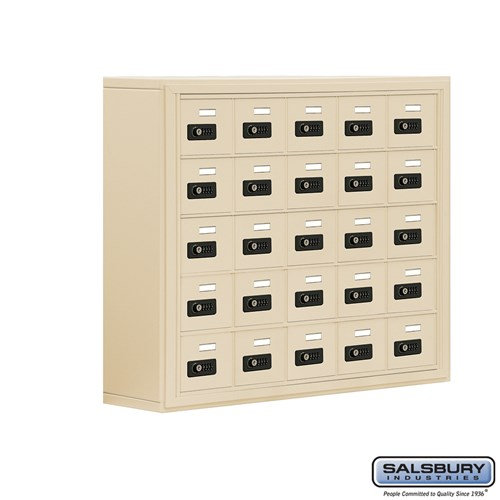 Salsbury Cell Phone Storage Locker - 5 Door High Unit  - 19058-25ASC