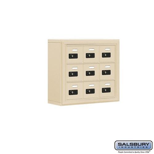 Salsbury Cell Phone Storage Locker - 3 Door High Unit  - 19035-09ASC