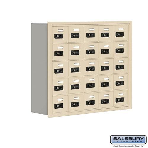 Salsbury Cell Phone Storage Locker - 5 Door High Unit  - 19058-25ARC