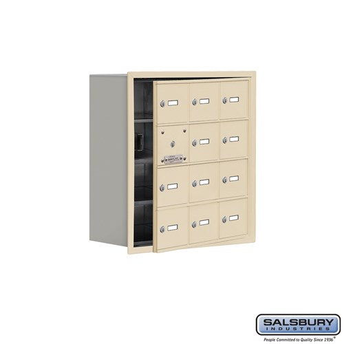 Salsbury Cell Phone Storage Locker - with Front Access - 19148-12ARK