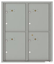 versatile 4C10D-4P 4CFL Front-loading Mailbox