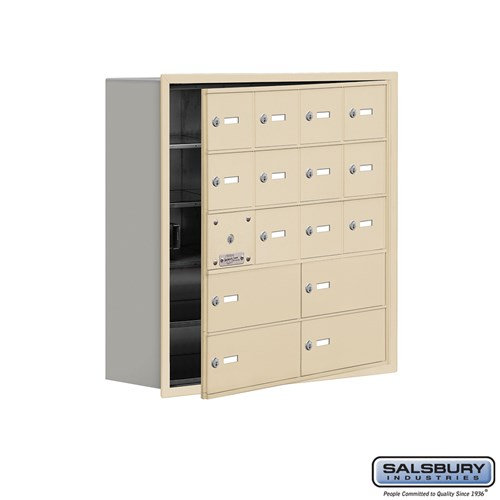 Salsbury Cell Phone Storage Locker - with Front Access - 19158-16ARK