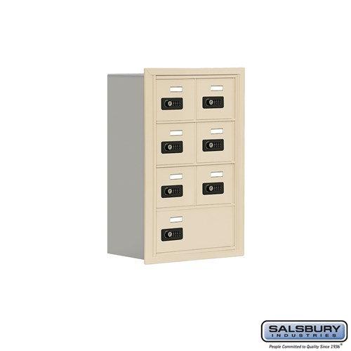 Salsbury Cell Phone Storage Locker - 4 Door High Unit  - 19048-07ARC