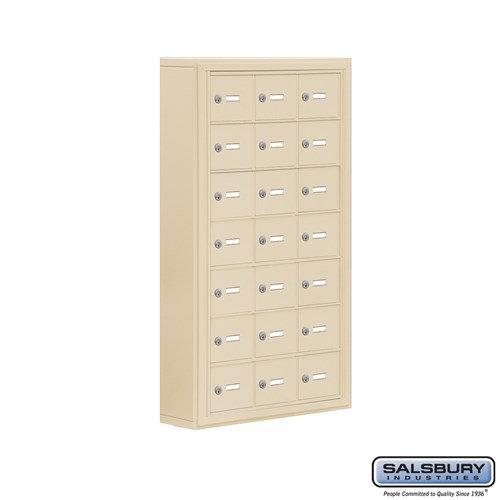 Salsbury Cell Phone Storage Locker - 7 Door High Unit  - 19075-21ASK