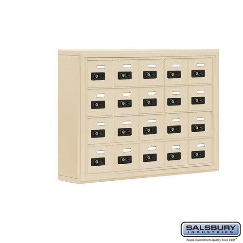 Salsbury Cell Phone Storage Locker - 4 Door High Unit  - 19045-20ASC