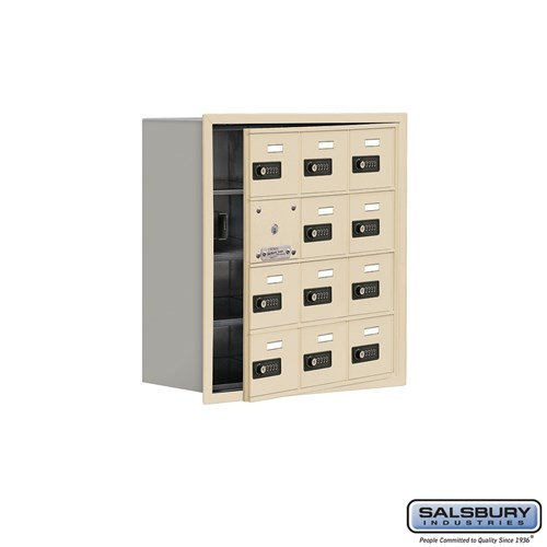 Salsbury Cell Phone Storage Locker - with Front Access - 19148-12ARC