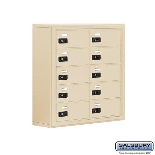 Salsbury Cell Phone Storage Locker - 5 Door High Unit  - 19058-10ASC