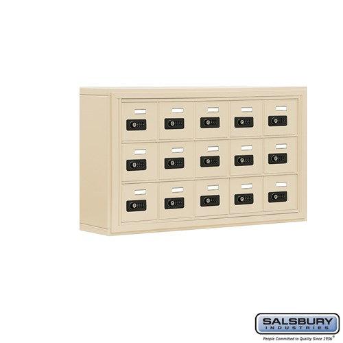 Salsbury Cell Phone Storage Locker - 3 Door High Unit  - 19035-15ASC