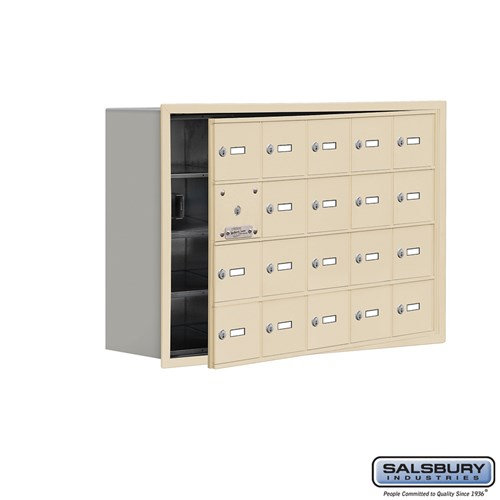 Salsbury Cell Phone Storage Locker - with Front Access - 19148-20ARK