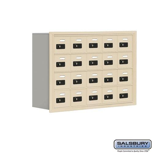 Salsbury Cell Phone Storage Locker - 4 Door High Unit  - 19048-20ARC