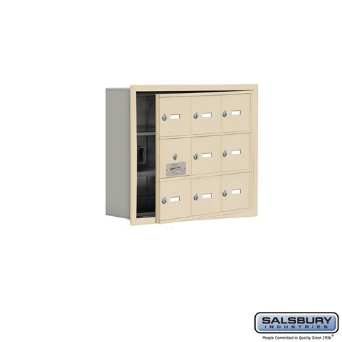 Salsbury Cell Phone Storage Locker - with Front Access - 19135-09ARK