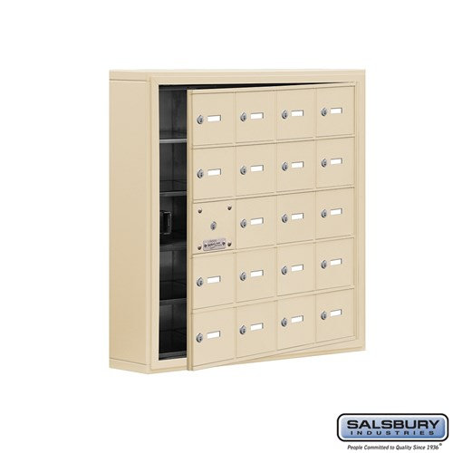 Salsbury Cell Phone Storage Locker - with Front Access - 19155-20ASK