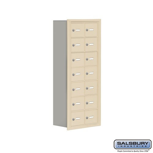 Salsbury Cell Phone Storage Locker - 7 Door High Unit  - 19078-14ARK
