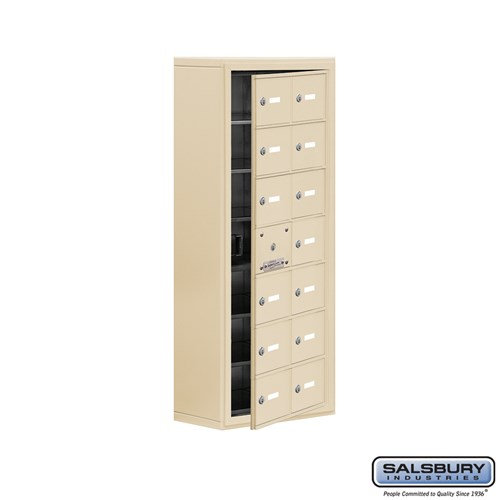 Salsbury Cell Phone Storage Locker - with Front Access - 19178-14ASK