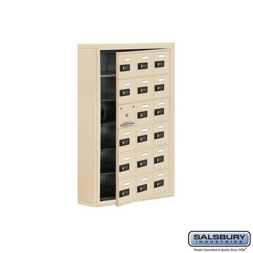 Salsbury Cell Phone Storage Locker - with Front Access - 19165-18ASC