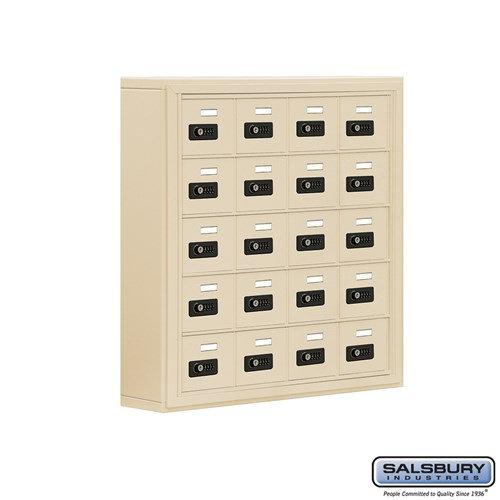 Salsbury Cell Phone Storage Locker - 5 Door High Unit  - 19055-20ASC