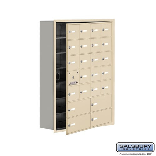 Salsbury Cell Phone Storage Locker - with Front Access - 19178-24ARK