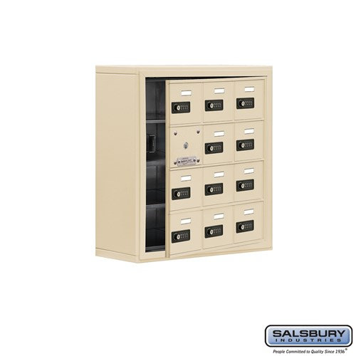 Salsbury Cell Phone Storage Locker - with Front Access - 19148-12ASC