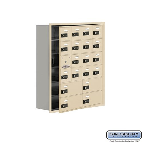 Salsbury Cell Phone Storage Locker - with Front Access - 19168-20ARC