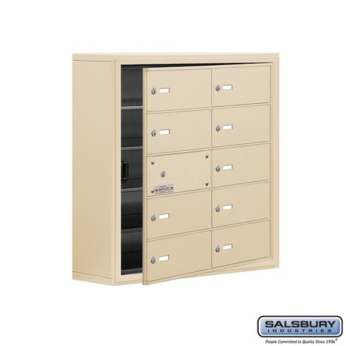 Salsbury Cell Phone Storage Locker - with Front Access - 19158-10ASK