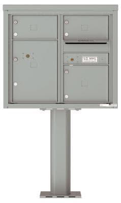 versatile 4C07D-03-P 4CFL Front-loading Mailbox