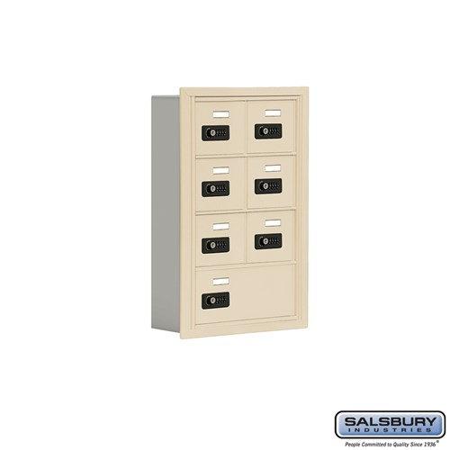 Salsbury Cell Phone Storage Locker - 4 Door High Unit  - 19045-07ARC