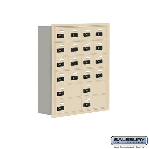 Salsbury Cell Phone Storage Locker - 6 Door High Unit  - 19068-20ARC