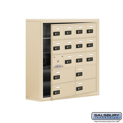 Salsbury Cell Phone Storage Locker - with Front Access - 19158-16ASC