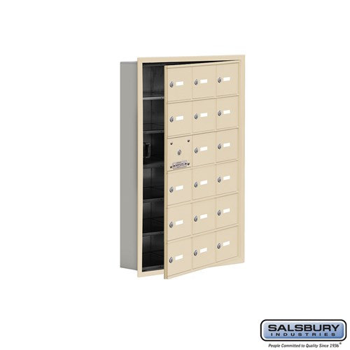 Salsbury Cell Phone Storage Locker - with Front Access - 19165-18ARK
