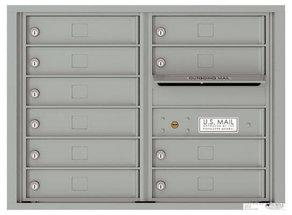 versatile 4C06D-10-SM 4CFL Front-loading Mailbox