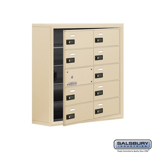 Salsbury Cell Phone Storage Locker - with Front Access - 19158-10ASC