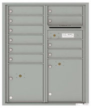 versatile 4CADD-10-SM 4CFL Front-loading Mailbox