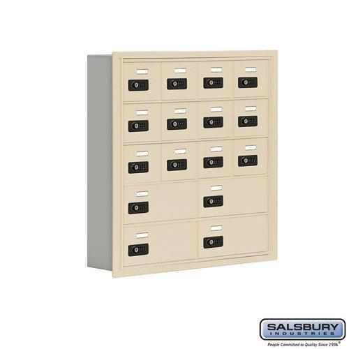 Salsbury Cell Phone Storage Locker - 5 Door High Unit  - 19055-16ARC