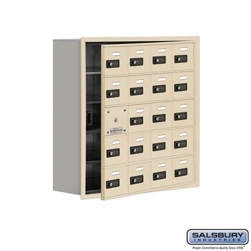 Salsbury Cell Phone Storage Locker - with Front Access - 19158-20ARC